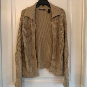 Liz Claiborne Cable Knit Cardigan M